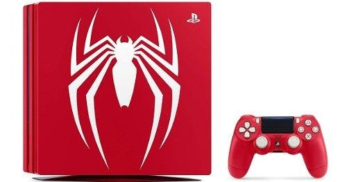 playstation 4 pro ps4 pro 1tb homem aranha spider man + nf