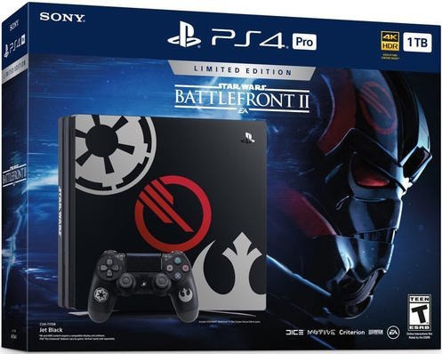 playstation 4 pro star wars limited edition - sniper game