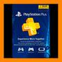 Tarjeta Playstation Psn Plus 1 Año Usa- Ps4 Ps3 Ps Vita