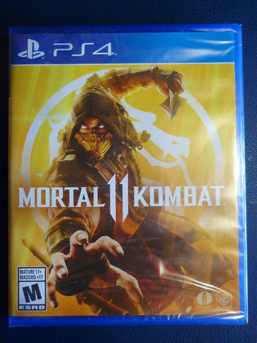 playstation 4 ps4 mortal kombat 11 mk11 nuevo