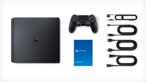 playstation 4 ps4 uncharted 4 500gb + promo 2 juegos 2017