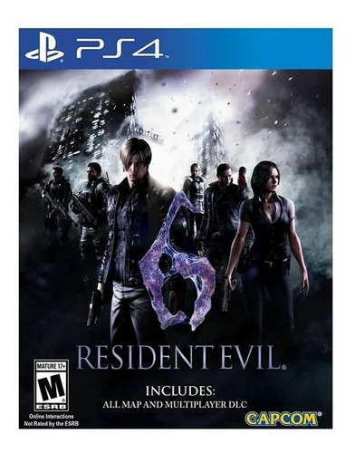 playstation 4 resident evil 6 ps4 nuevo disponible