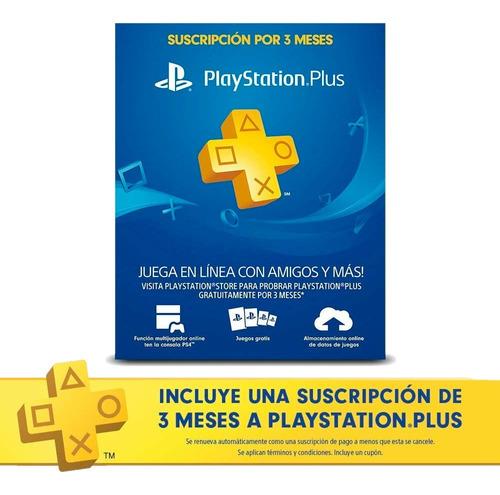 playstation 4 slim 1 tb + 3 juegos + ps plus 3 meses