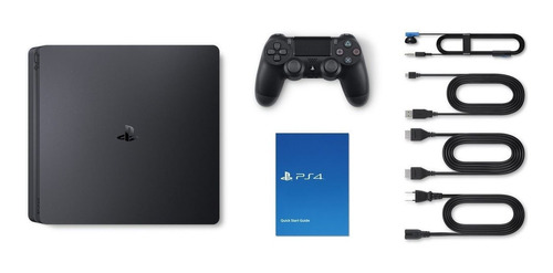 playstation 4 slim 1tb 3 juegos ps plus 2 joysticks macrotec