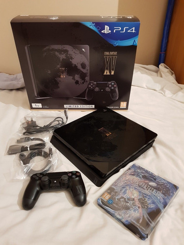 playstation 4 slim 1tb fantasy xv edición limitada