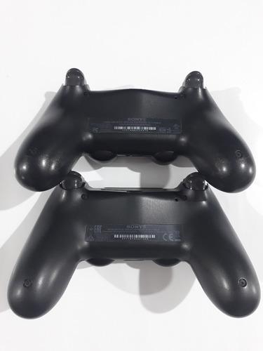playstation 4 slim 500gb ps4 bivolt com 2 controles e cases