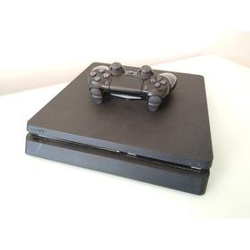 Playstation 4 Slim De 500gb + 1 Joystick + 4 Juegos