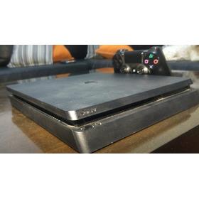 Playstation 4 Slim De 500gb + Dualshock 4 + Hdmi
