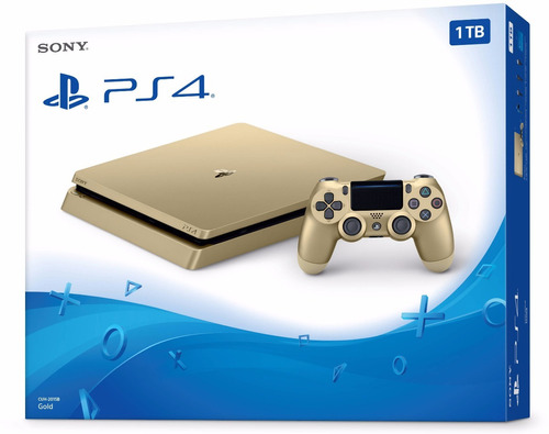 playstation 4 slim gold ps4 1tb nuevo garantia