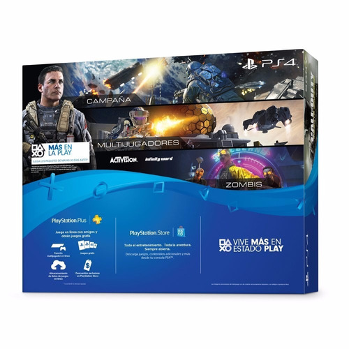 playstation 4 slim ps4 500gb call of duty infinite warfare