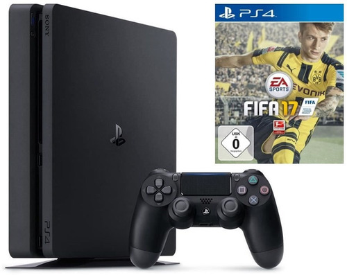 playstation 4 slim ps4 500gb con fifa 17 mod cuh-2015a msi