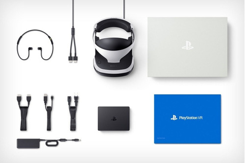 playstation 4 vr bundle: gafas+camara+mandos+ 2 juegos