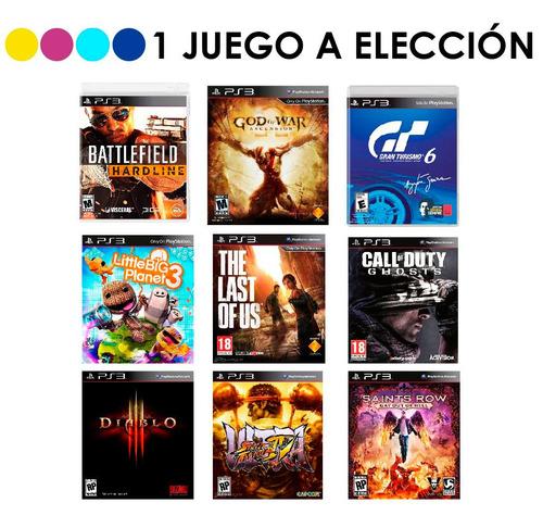 playstation 500gb juego ps3