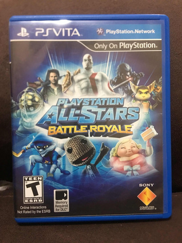 playstation all-stars battle royale ps vita psvita
