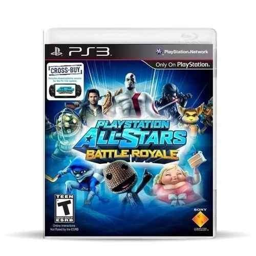 playstation all stars battle royale usado blu ray.