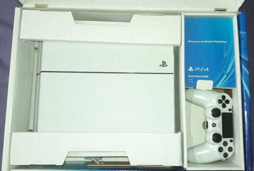playstation c/blanco 500 gb. nuevo