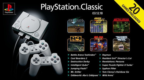 playstation clasico mini #50
