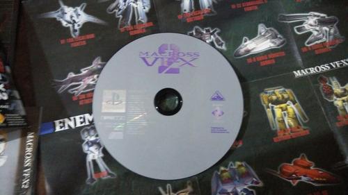 playstation macross vfx 2 japonés original ps one