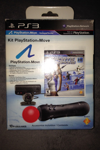playstation move essential pack sony oficial (ps3)