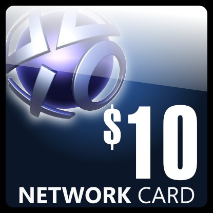playstation network card ps3