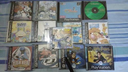 playstation one control y 13 juegos