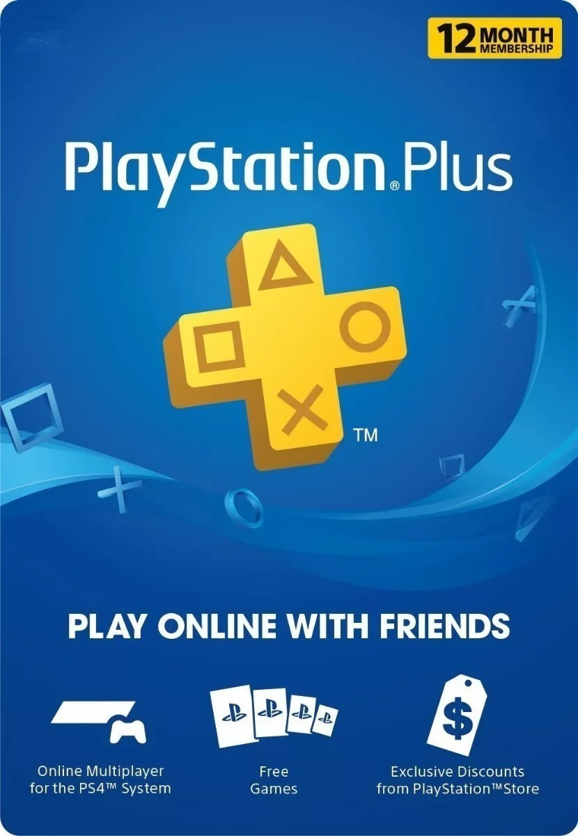 PlayStation Plus 12 Meses - Chile