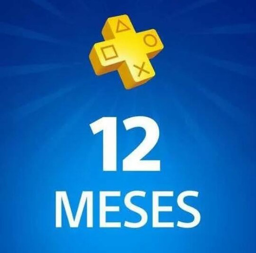 playstation plus 12 meses psn plus ps4 tu usuario + juegos