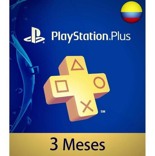 playstation plus por 3 meses