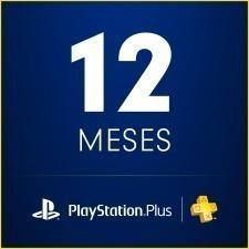 playstation psn plus 12 meses 378días 1 año ps4-ps3 +juegos