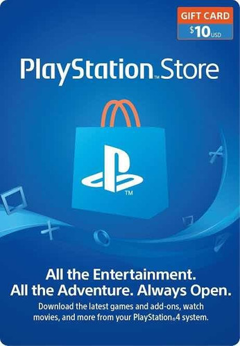 playstation store 10us