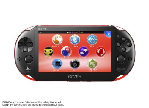 playstation vita super value pack modelo wi-fi rojo / negro