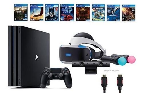 playstation vr deluxe bundle 12 items:vr start bundle,ps4 pr