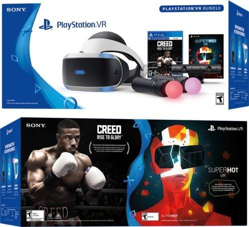 playstation vr gafas de realidad virtual. segunda generación