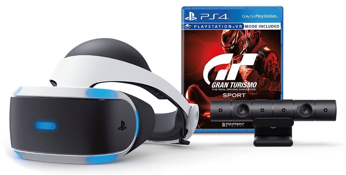 Playstation Vr Ps4 Casco Realidad Virtual Camara Juego