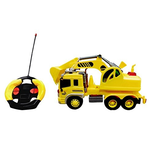playtek light up 116 scale 4 ch rc excavator pt1912 coche de