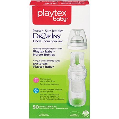 playtex baby nurser drop-ins biberones desechables para bebé