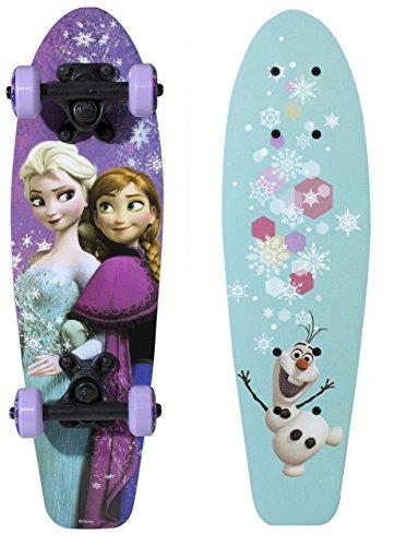 playwheels disney frozen 21 wood cruiser skateboard sisters