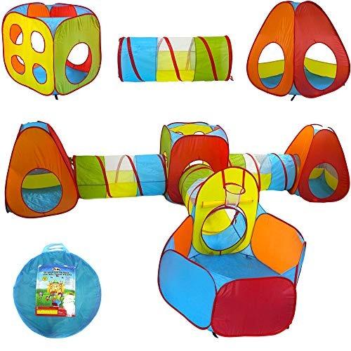 playz 3pc emoji toys kids pop up tienda de juegos tun túnel