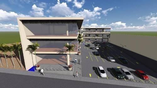 plaza comercial en renta frente a walmart montebello