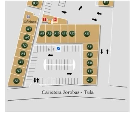 plaza comercial jardines de tula local no. 14