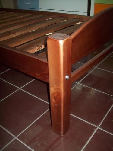 plaza madera cama
