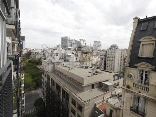 plaza san martín. departamento 3 ambientes con balcón. alquiler temporario sin garantías.