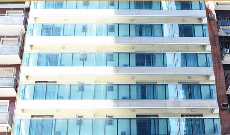 plaza san martin. unidad en hotel céntrico a estrenar! alquiler temporario sin garantías.
