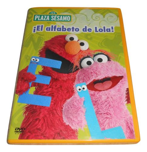 plaza sésamo dvd el alfabeto de lola original