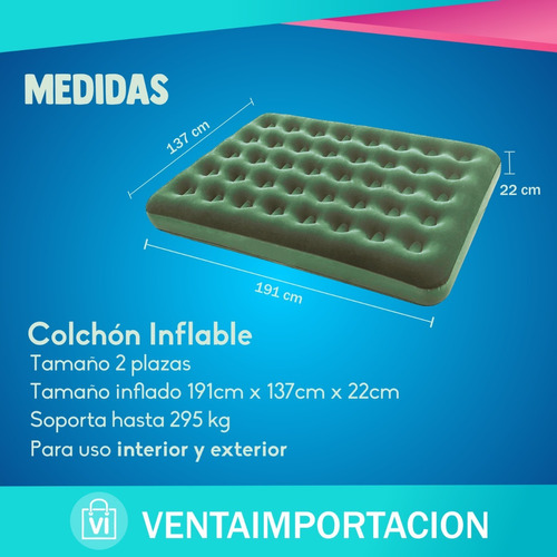 plazas plaza inf colchon inflable