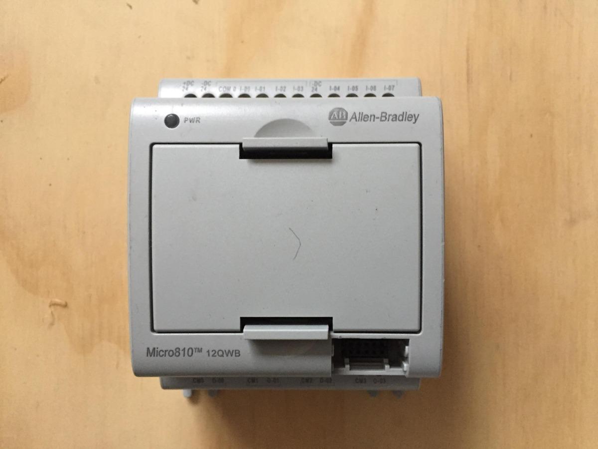Plc Allen Bradley Micro 810