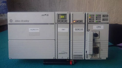 plc compactlogix 1768-l43 ethernet sercos completo c/in-out