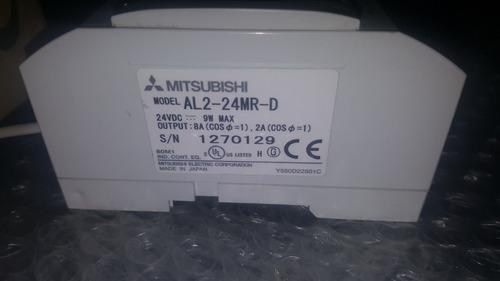 plc mitsubishi al2-24mr-d power industrial