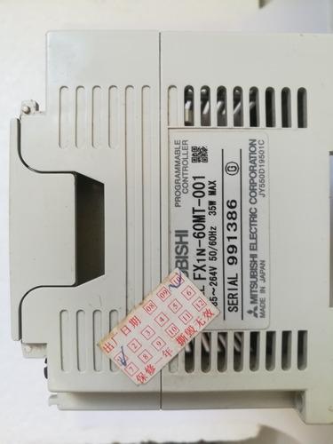 plc mitsubishi fx1-60mt-001