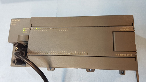 plc s7-200 cpu 226 ac/dc/rly 6es7 216-2bd23 power industrial